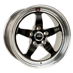 Weld RTS 15X4 Wheels 2.5 BS- LW Brakes