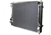 Aluminum Polish Radiator 2010 & Up Mustang Gt Crossflow AFCO