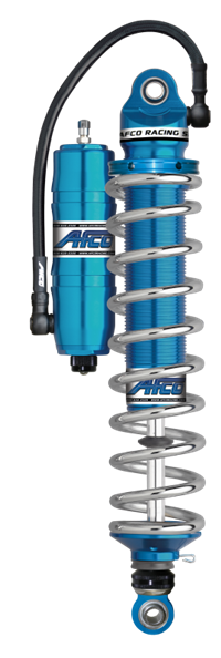 "AFCO BIG GUN X ""RADIALS"" DOUBLE ADJUSTABLE MONOTUBE CANISTER SERIES SHOCKS"