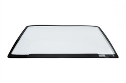 Optic Armor 15+ Mustang  front windshield 3/16in drop-in black-out