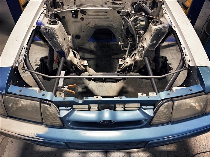 Team Z Mustang 79-93 Tubular Front End Kit - Welded