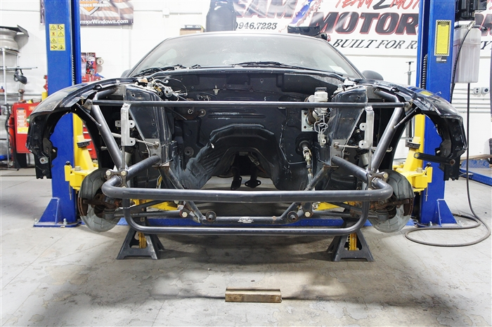 Team Z Mustang 94-04 Tubular Front End Kit - Welded